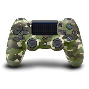 MANETTE JEUX VIDÉO Manette PS4 DualShock 4 Green Camo V2+2boutons+1 L