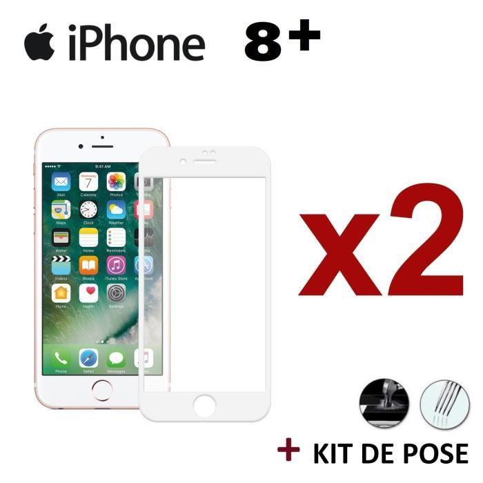 protege ecran pour iphone 8 plus verre trempe