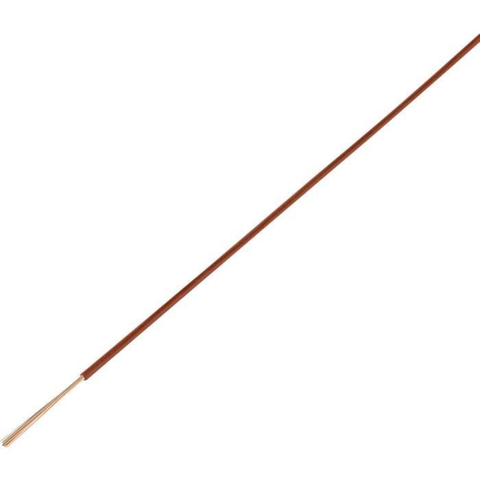 Câble pour l'automobile FLRY-A TRU COMPONENTS 93030c336 1564279 1 x 2.50 mm² marron 50 m