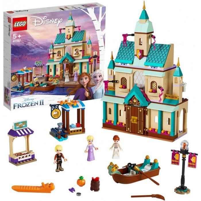 Lego®-Disney Princess™ Le Château D'Arendelle Issu Du Film La Reine Des Neiges 2 De Disney Jouet Fille Et Garçon 6 Ans Et Plus, 521