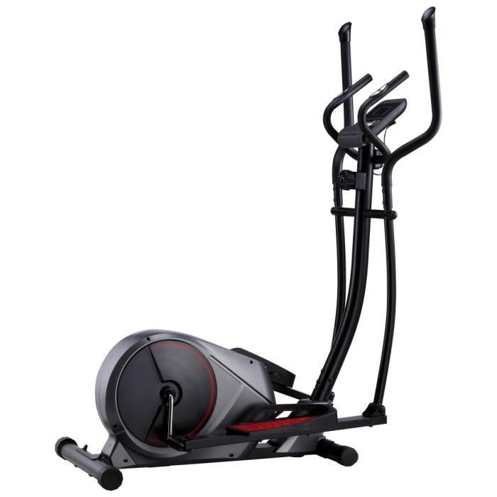 Vélo elliptique d'Appartement - Appareil de Fitness cardio Fitness LCD : temps, vitesse, distance, calories, pouls- Vélo Biking -