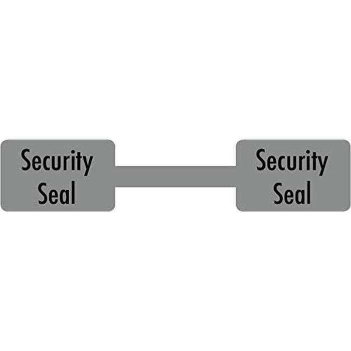 Garantie Void/Dameur Inviolable/Inviolable/Sécurité Joint /Haltère /10 x 54mm Haltère, Sécurité Joint, 500/Étiquettes