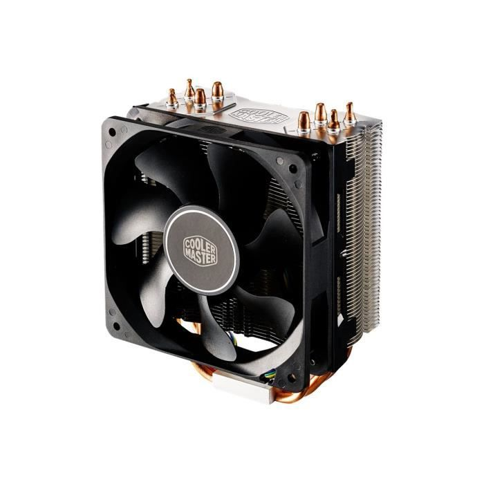 Cooler Master Hyper 212X Refroidisseur de processeur (LGA775 Socket, LGA1156 Socket, Socket AM2+, Socket AM3, LGA1155 Socket,…