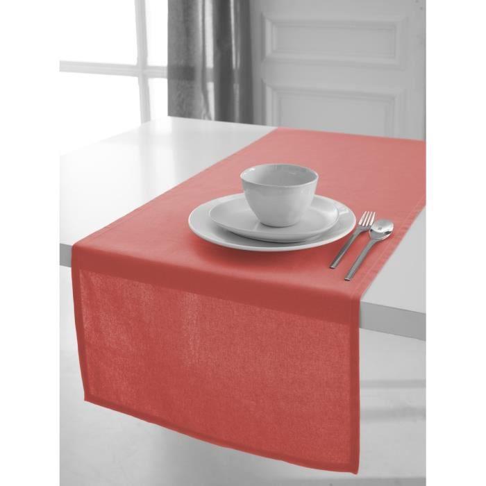 TODAY Chemin de table 50x150 cm corail