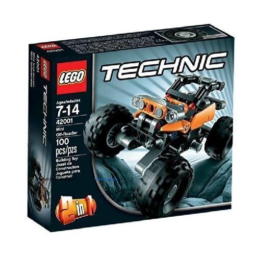 LEGO TECHNIC - 42001 - JEU DE CONSTRUCTION - LE…
