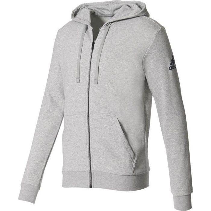 Adidas Performance Veste à Capuche Essentials Base Adidas gris, vêtements homme