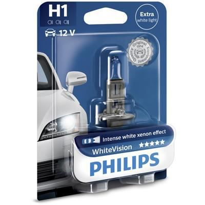 PHILIPS Ampoule WhiteVision 1 H1 12V 55W