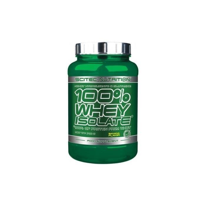 100% Whey Isolate (700g) Choco Noisette Scitec Nutrition