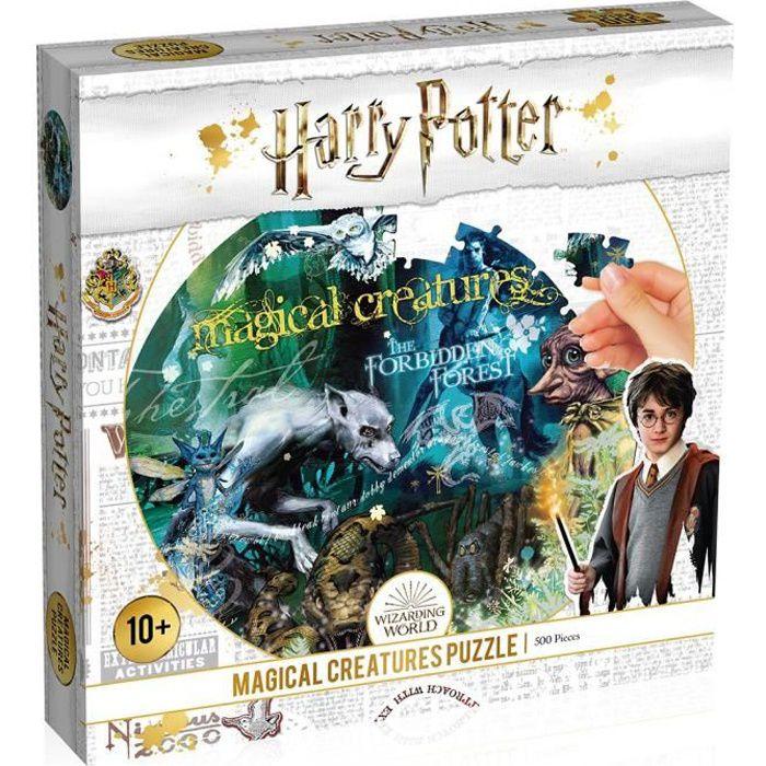 PUZZLE HARRY POTTER ET LES CREATURES MAGIQUES 500 PIECES - NOUVELLE EDITION