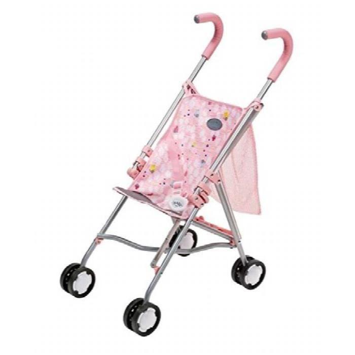 Zapf Creation Baby Born Poussette 822319 Pour Sur Le Go, Rose XY57C