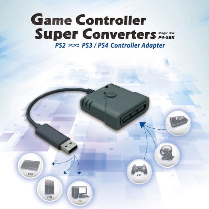 ADAPTATEUR MANETTE BROOK Adaptateur d'interface USB Brook pour PS2 à