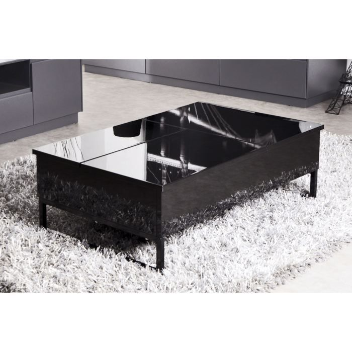 table basse relevable 2 plateaux. Black Bedroom Furniture Sets. Home Design Ideas