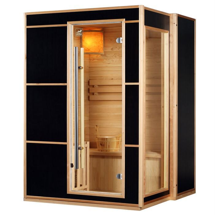 sauna traditionnel finlandais 3 pl saga blazer l achat. Black Bedroom Furniture Sets. Home Design Ideas
