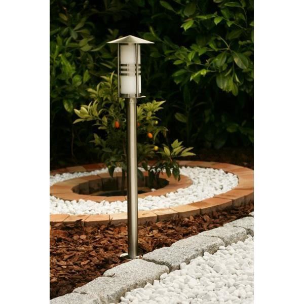 lampadaire jardin lampe sur pied ext rieur inox achat vente mini lampadaire jardin inox. Black Bedroom Furniture Sets. Home Design Ideas