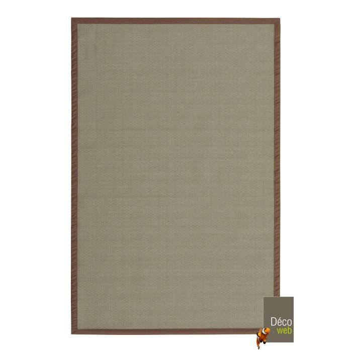 tapis ext rieur pvc tress taupe 120 x 180 cm achat vente tapis cdiscount. Black Bedroom Furniture Sets. Home Design Ideas