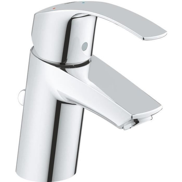 Grohe Robinet Mitigeur Lavabo Eurosmart Taille S Chrome Achat