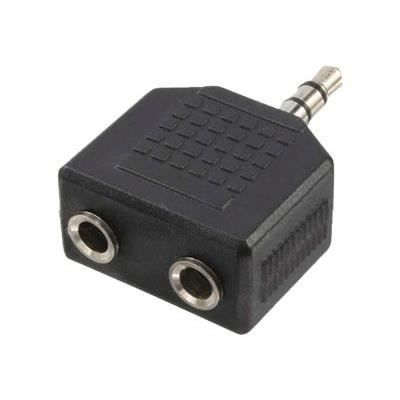 adaptateur audio connecteur jack 2x prise jack c ble tv vid o son avis et prix pas. Black Bedroom Furniture Sets. Home Design Ideas