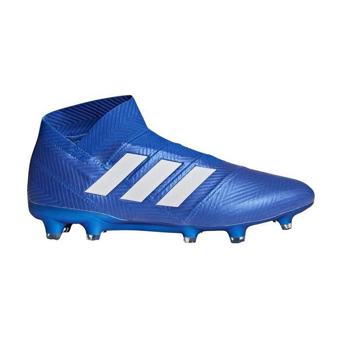 Chaussures football adidas Nemeziz 18+ FG Bleu