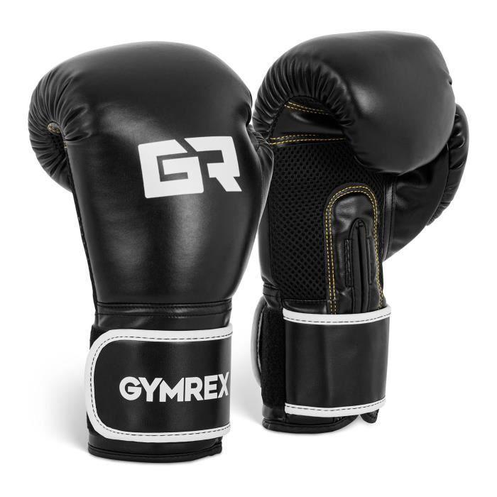Combat Gants de boxe en cuir v/éritable Des gamins Le MMA Mitaines de sac GEL Sac de boxe Muay Thai Le Arts martiaux Le Kick Boxe Gants Des gamins Pro Combat Gant de boxe 10oz 4oz 6oz 8oz
