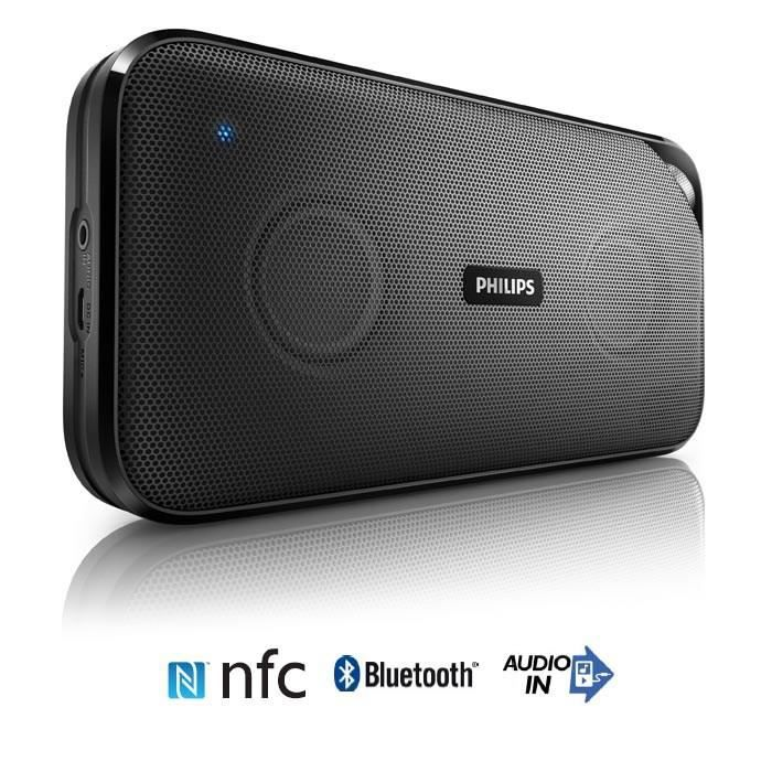 philips bt3500b enceinte bluetooth portable 10w rm. Black Bedroom Furniture Sets. Home Design Ideas