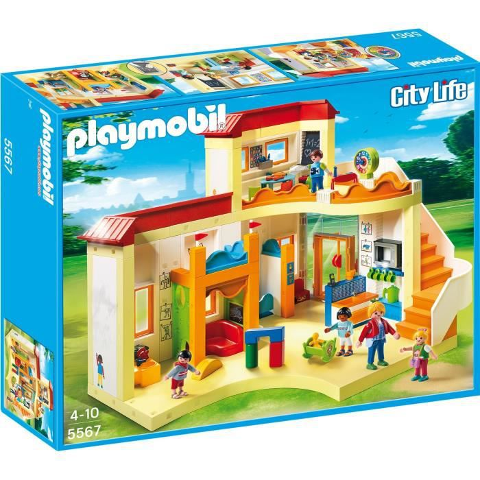 playmobil 5567 garderie enfant achat vente univers miniature les soldes sur cdiscount. Black Bedroom Furniture Sets. Home Design Ideas