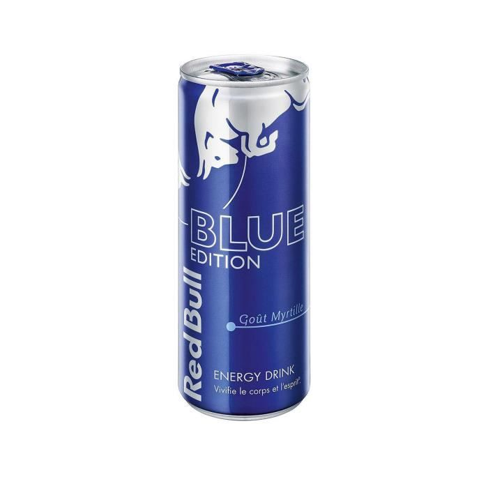 red bull boisson nergisante blue edition 25 cl achat vente energy drink red bull blue. Black Bedroom Furniture Sets. Home Design Ideas