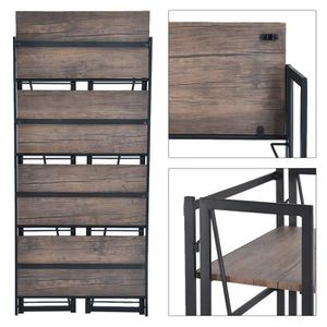 etagere murale charge lourde achat vente etagere murale charge lourde pas cher cdiscount. Black Bedroom Furniture Sets. Home Design Ideas