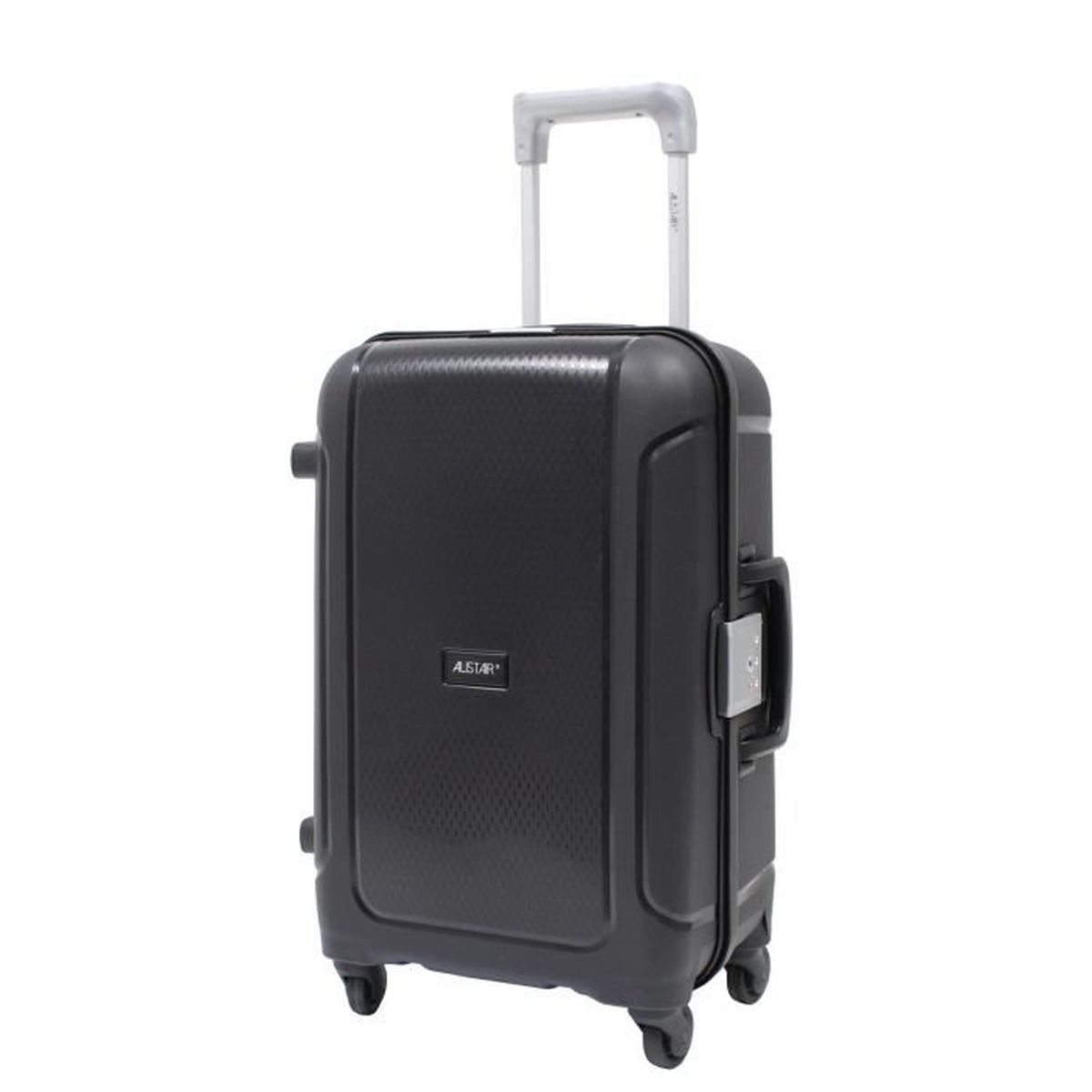 Chariot de courses pliable l/éger sur roulettes 55 x 35 x 20 cm Carry-on Butterflies Black