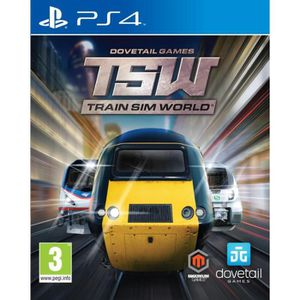 JEU PS4 Train Sim World Jeu PS4