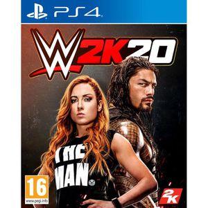 JEU PS4 WWE 2K20 Jeu PS4