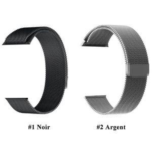 BRACELET DE MONTRE Bracelet Boucle Magnétique Montre en Acier Inoxyda