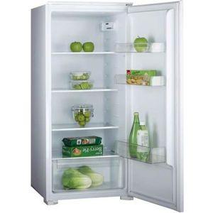 RÉFRIGÉRATEUR CLASSIQUE Amica - réfrigérateur 1 porte intégrable à glissiè