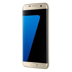 SMARTPHONE RECOND. Samsung Galaxy S7 EDGE Or 32Go Reconditionné Télép