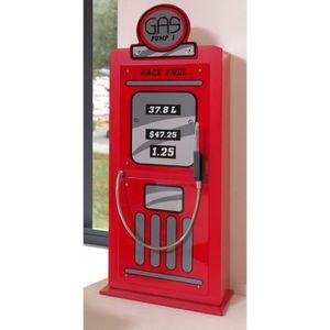 Armoire pompe à essence rouge laqué SIXTY - Rouge - Achat ...
