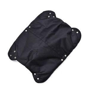 GANTS POUSSETTE MOGOI Gants chauds pour poussette Noir