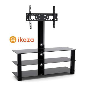FIXATION - SUPPORT TV IKAZA IKM3265 MEUBLE 3 PLATEAUX  AVEC SUPPORT TV O