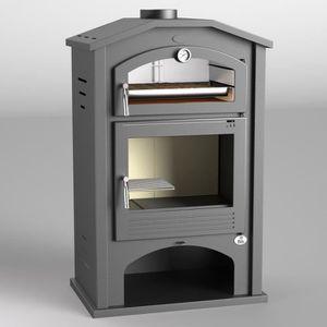 POÊLE À BOIS FM Poêle à bois acier M-106 9kW avec porte en font
