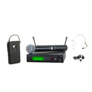 Système d'écoute UHF PRO Système de microphone sans fil + ordinateu