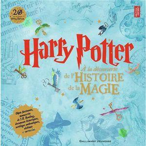 DOCUMENTAIRE ENFANT Livre - Harry Potter ; à la découverte de l'histoi