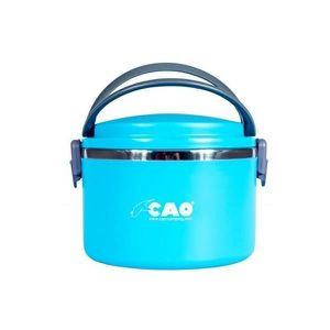 VAISSELLE CAMPING CAO CAMPING Lunch box isotherme Ronde - 1 L - Bleu