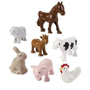 ASSEMBLAGE CONSTRUCTION Jouets Ecoiffier - 3249 - Les animaux de la ferme