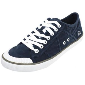 BASKET Chaussures basses toile  Violay navy canvas lady