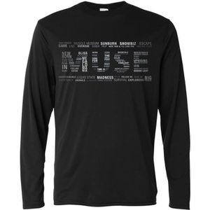 T-SHIRT T-shirt manches longues homme  -  Muse Multi Text