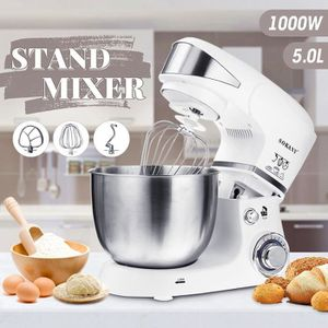 BATTEUR - FOUET Sokany 1000W 5L Mélangeur Mixeur Pétrisseur Cuisin