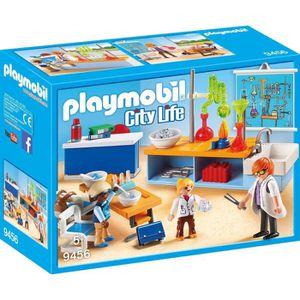 UNIVERS MINIATURE PLAYMOBIL 9456 - City Life - Classe de Physique Ch