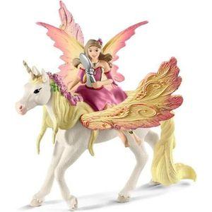FIGURINE - PERSONNAGE SCHLEICH - Figurine 70568 Fée Feya et une licorne
