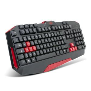 CLAVIER D'ORDINATEUR Clavier Spirit Of Gamer PRO-K3 RED USB