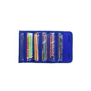 1/de couleurs assorties//–/Noir Bleu et Violet Helix Trousse en nylon 200/x 100/