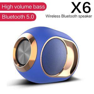 ENCEINTE NOMADE Mini X6 HiFi Enceinte Bluetooth 5.0 portable Stere