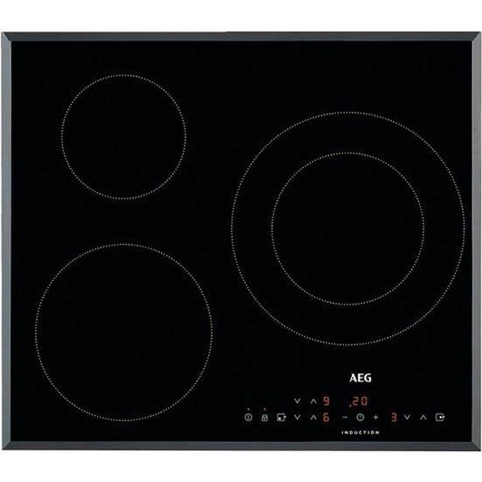 Plaque à Induction Aeg IKB6330SFB (3 Zones de cuisson)